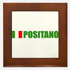 Positano, Italy Framed Tile