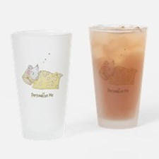 Sleeping Mouse Drinking Glass
