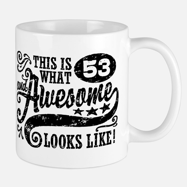 53rd Birthday Mug