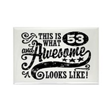 53rd Birthday Rectangle Magnet