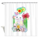 A Nice And Normal Easter Bunny-No Shower Curtain