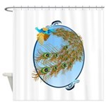 Queen Duvet The Dove Of Peace Shower Curtain