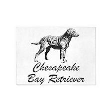 Chesapeake Bay Retriever 5'x7'Area Rug