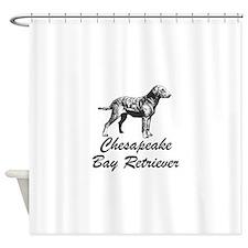 Chesapeake Bay Retriever Shower Curtain