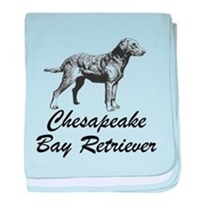 Chesapeake Bay Retriever baby blanket