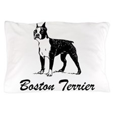 Boston Terrier Pillow Case