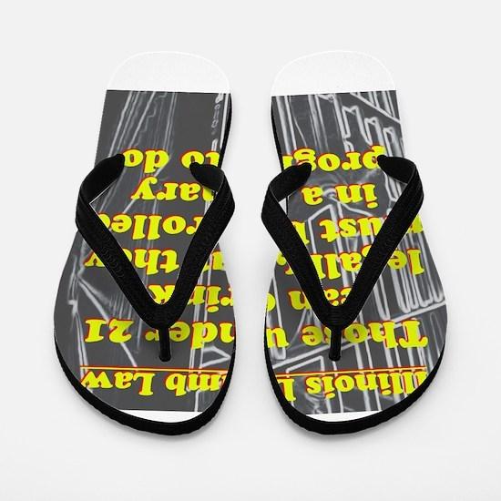Illinois Dumb Law #1 Flip Flops
