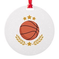 Basketball Laurel Ornament