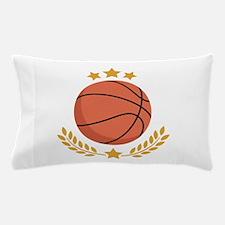 Basketball Laurel Pillow Case