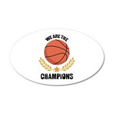 WE ARE THE CHAMPIONS Wall Decal