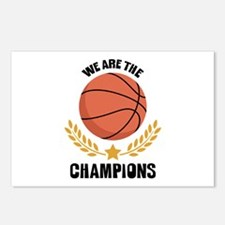 WE ARE THE CHAMPIONS Postcards (Package of 8)