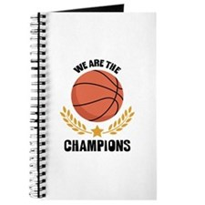 WE ARE THE CHAMPIONS Journal