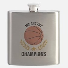 WE ARE THE CHAMPIONS Flask