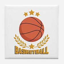 BASKETBALL Tile Coaster