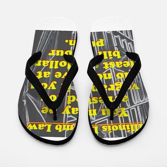 Illinois Dumb Law #3 Flip Flops