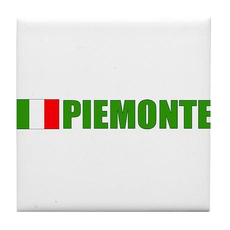 Piemonte, Italia Tile Coaster