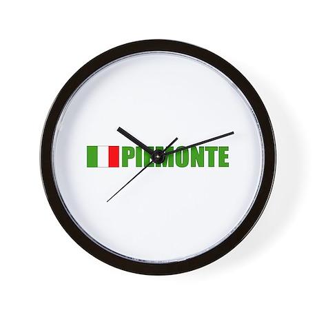Piemonte, Italia Wall Clock