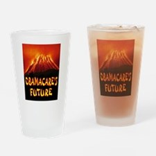 DISASTER Drinking Glass