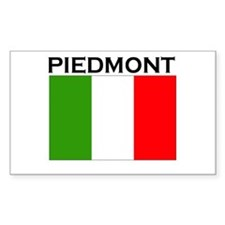Piedmont, Italy Rectangle Decal