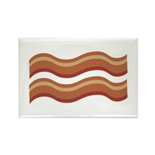 Slice of Bacon Magnets