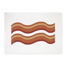 Slice of Bacon 5'x7'Area Rug