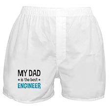 Best Engineer Dad Boxer Shorts