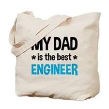 Best Engineer Dad Tote Bag