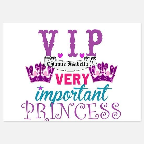 VIP Princess Personalize Invitations