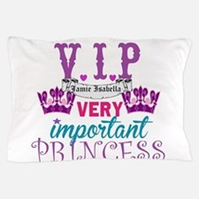 VIP Princess Personalize Pillow Case