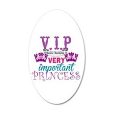 VIP Princess Personalize Wall Decal