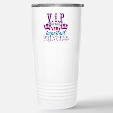VIP Princess Personalize Travel Mug