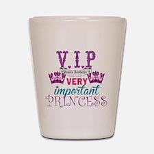 VIP Princess Personalize Shot Glass