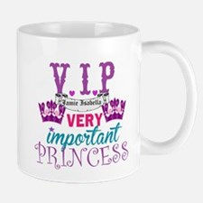 VIP Princess Personalize Mugs