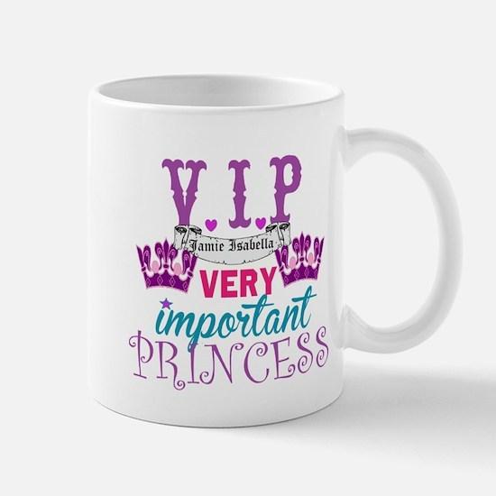 VIP Princess Personalize Mugs