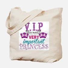 VIP Princess Personalize Tote Bag
