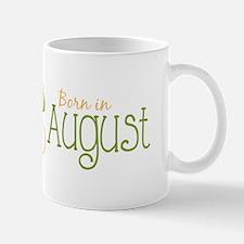 Born in August Mugs