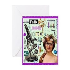 Talk Nerdy To Me Card Greeting Cards