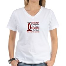 Brain Aneurysm MeansWorldTo Shirt