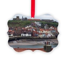 whitby cottages Ornament