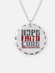 Brain Aneurysm HopeFaithCure Necklace