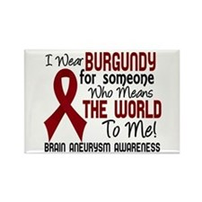Brain Aneurysm MeansWorldToMe2 Rectangle Magnet