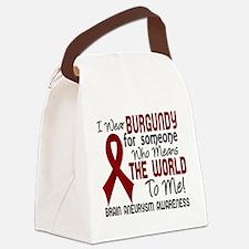 Brain Aneurysm MeansWorldToMe2 Canvas Lunch Bag