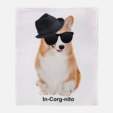 In-Corg-nito Throw Blanket