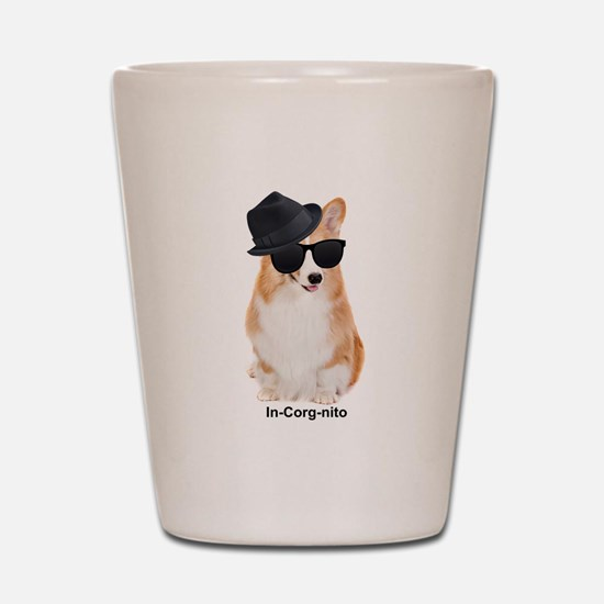 In-Corg-nito Shot Glass