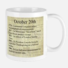 October 20th Mugs