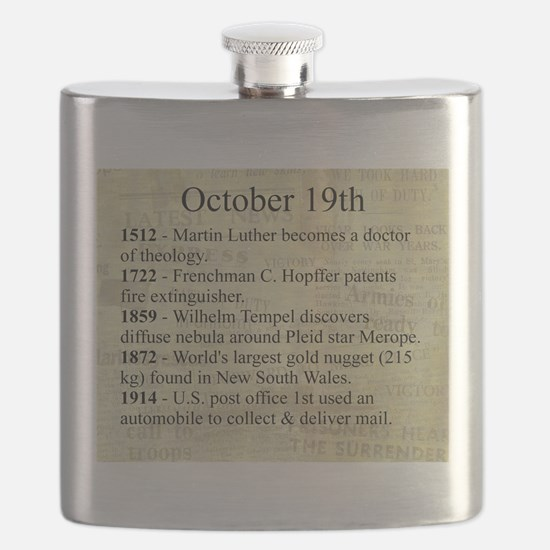 October 19th Flask