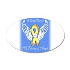 Trisomy Angel Wall Decal