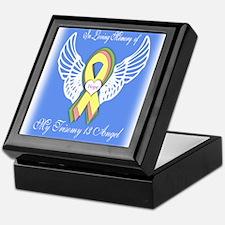 Trisomy Angel Keepsake Box