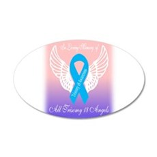 Trisomy 18 angels Wall Decal
