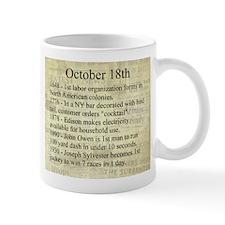 October 18th Mugs